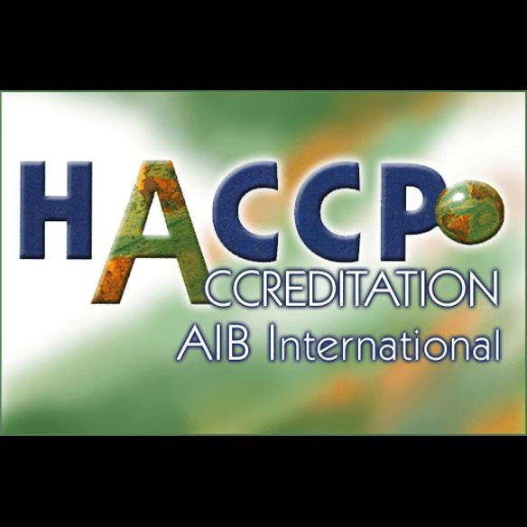 HACCPO Accreditation AIB International