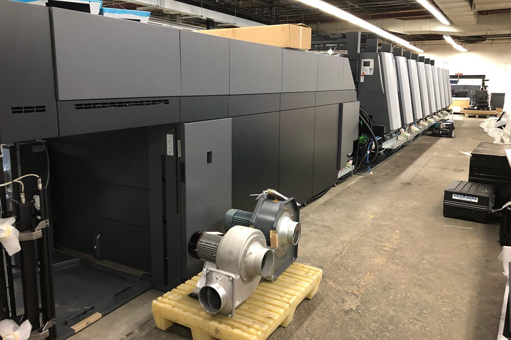 Gamse Press Heidelberg Speedmaster XL 106