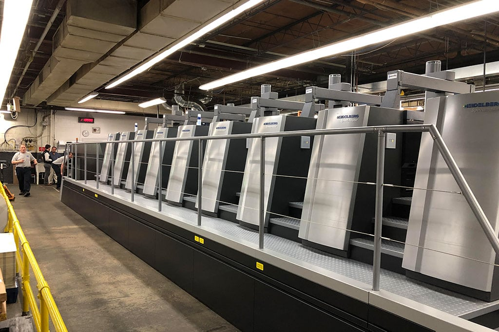 Gamse's New Press - Heidelberg Speedmaster XL 106